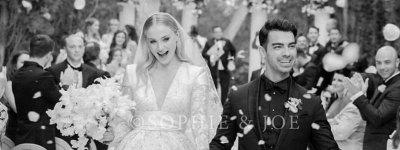 Sophie Turner evlendi! İşte merak edilen gelinliği